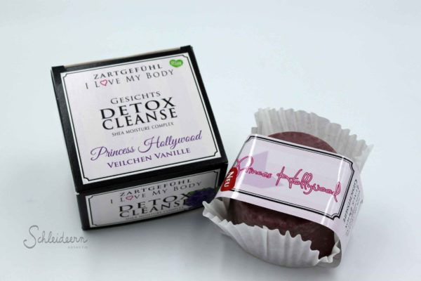 Princess Hollywood, Detox Cleanse Gesichts Seife Cotten Candy