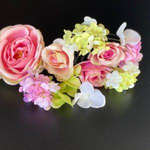 einzelne Blumen für das Haar, Blumenkranz, Haarschmuck